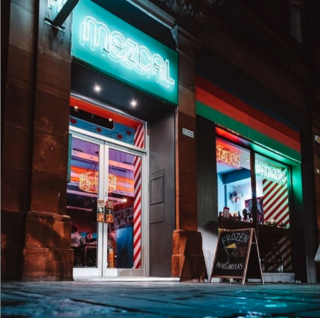 Photo of Mezcal Restaurant from the street